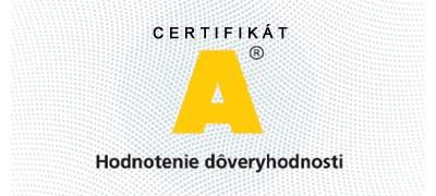 Certifikát dôveryhodnosti