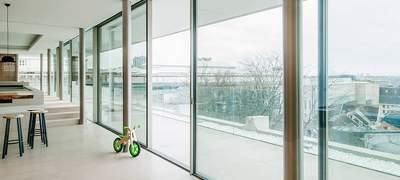 Kvalita a dizajn okien architektura skla