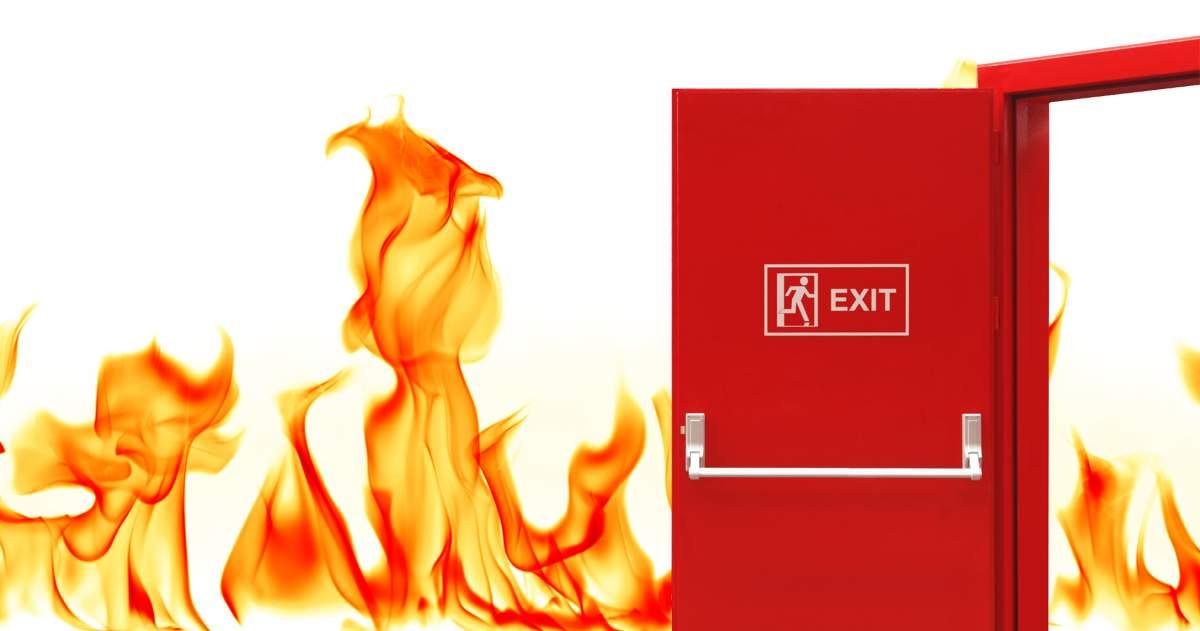 Aké sú to protipožiarne dvere?