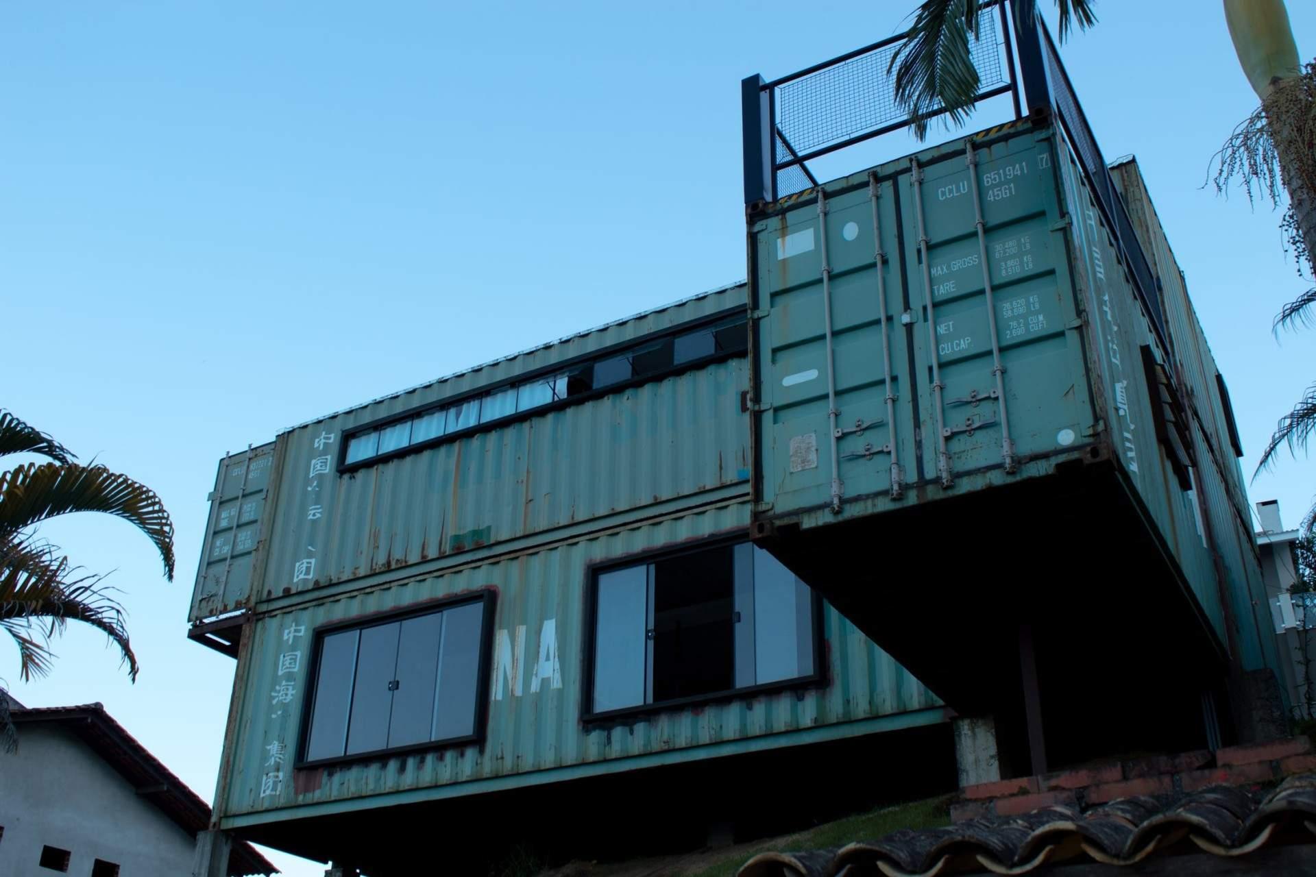 Imidžový kontajnerový dom za pár drobných, žite v luxuse