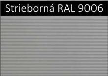 Strieborná RAL 9006