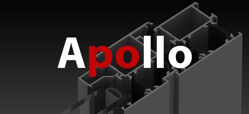 Hliníkový systém - Apollo