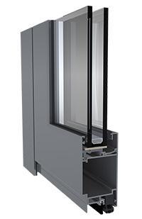 Hliníkové dvere Apollo Cold