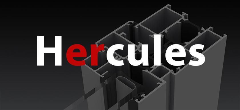 Hliníkový systém - Hercules