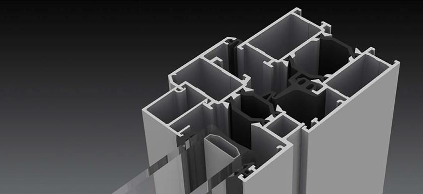 Hercules osztályú alumínium ablakok