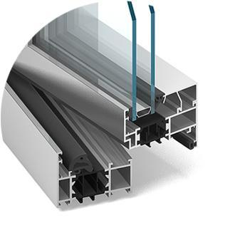 Alumínium ablak MB-70