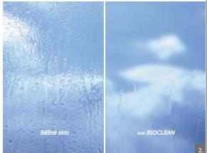 Rozdiel: bežné sklo a samočistiace sklo