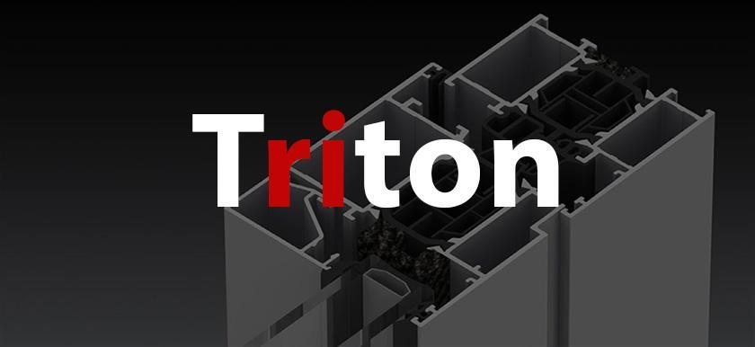 Hliníkové okná - Triton HI+