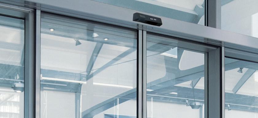 Automatické posuvné hliníkové dvere