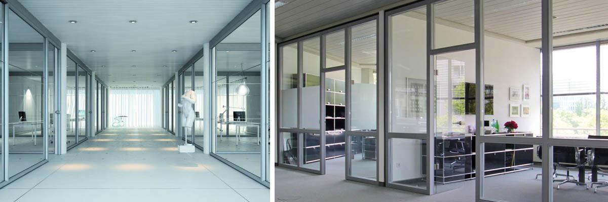 Interiérové hliníkové systémy