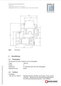 Certifikát okien triedy Diamant - Geneo 86 MD