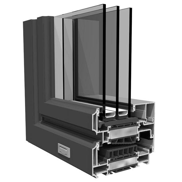 Chepri - Dizajn hliníkových okien SO EASY