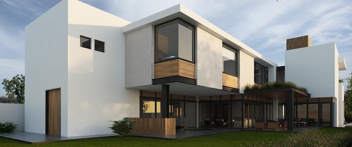 Ultra moderný pasívny dom.