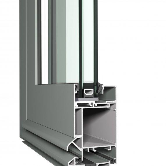 Hliníkové vchodové dvere CS 45PA
