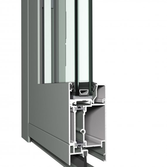 Hliníkové vchodové dvere CS 59