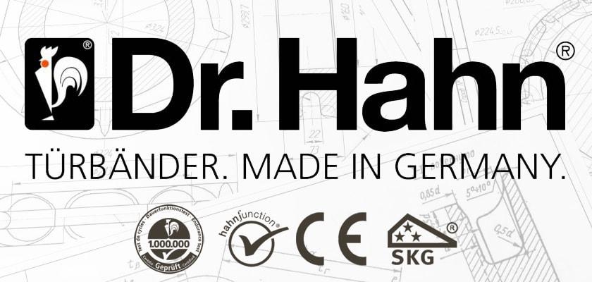 Dr. Hahn ajtópántok - Made in Germany