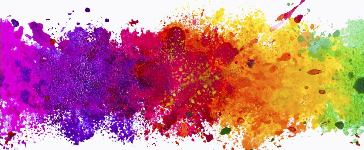 fantázia farieb okien.