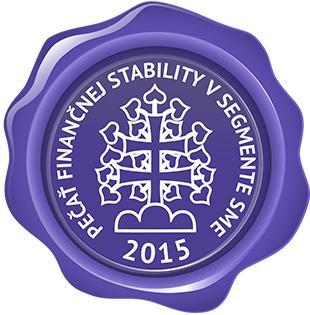 Pečať finančnej stability v segmente SME