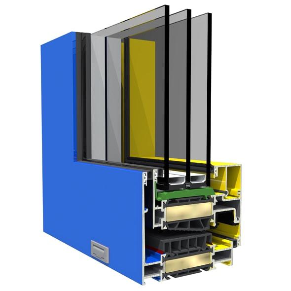 Hapi - Dizajn hliníkových okien SO EASY