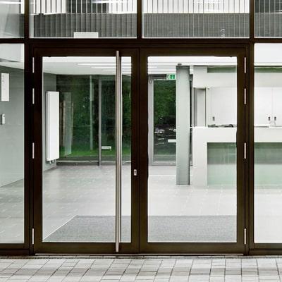 Hliníkové vchodové dvere WICONA WICSTYLE