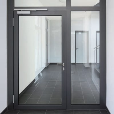 Hliníkové protipožiarne dvere WICONA WICSTYLE 77FP