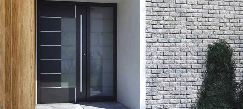 Hliníkové vchodové dvere - Exclusive