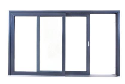 HST - zdvižno-posuvné dvere (otvorená poloha)