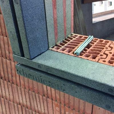 Predsadená montáž pre pasívne domy