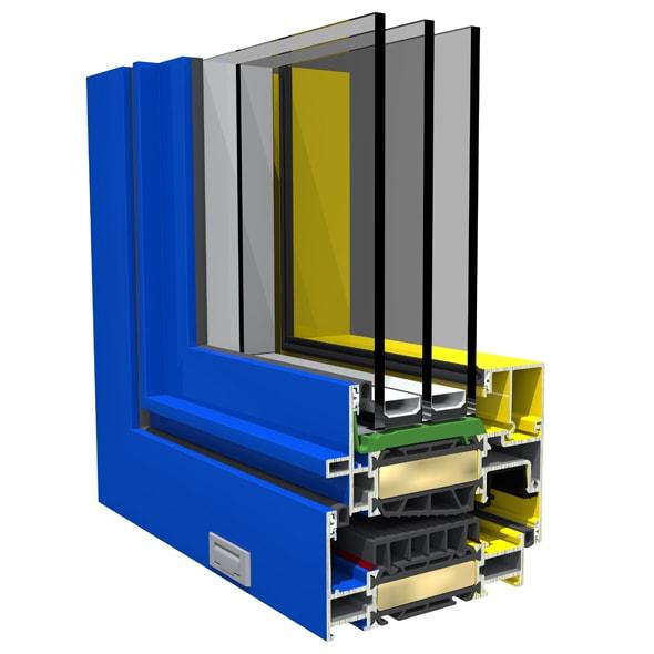 Mut - Dizajn hliníkových okien SO EASY