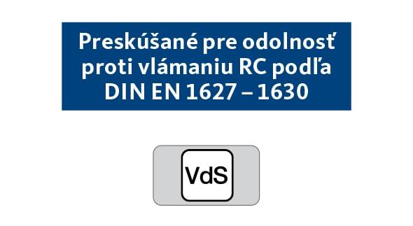RC / VdS betörésbiztosság