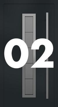 Vzor 02 - Panelové dvere exclusive