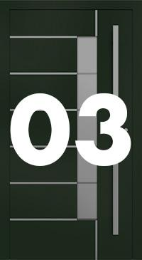 Vzor 03 - Panelové dvere exclusive