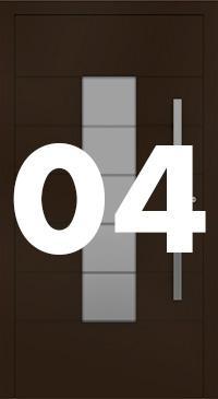 Vzor 04 - Panelové dvere exclusive