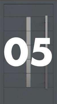 Vzor 05 - Panelové dvere exclusive