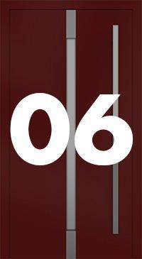 Vzor 06 - Panelové dvere exclusive