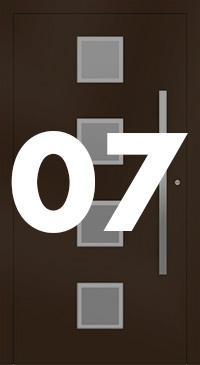 Vzor 07 - Panelové dvere exclusive