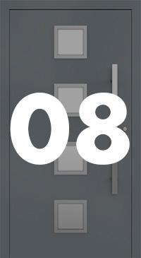 Vzor 08 - Panelové dvere exclusive