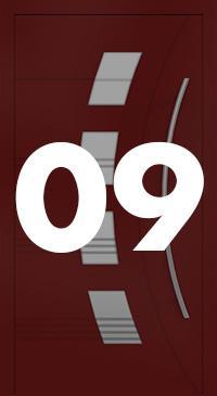 Vzor 09 - Panelové dvere exclusive