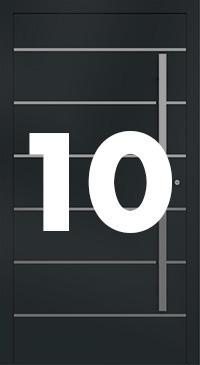 Vzor 10 - Panelové dvere exclusive