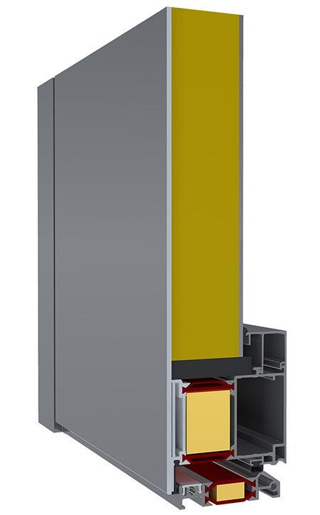 Rez panelových dverí exclusive s jednostranným prekrytím