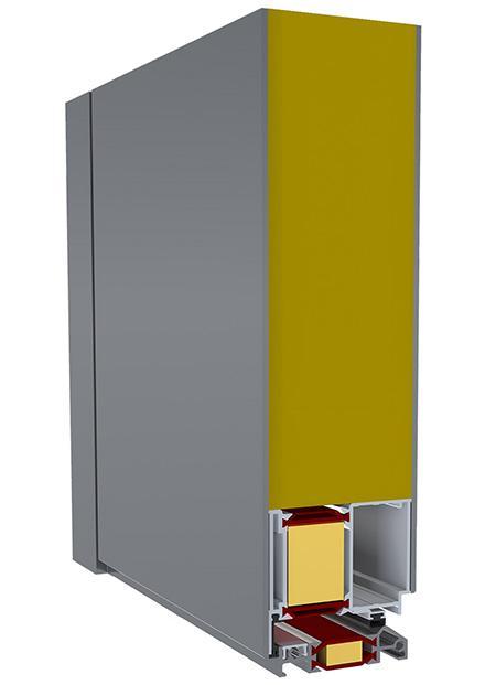 Rez panelových dverí exclusive s obojstranným prekrytím