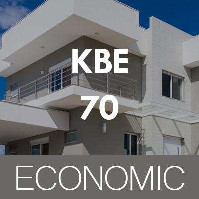 ECONOMIC Profine KBE 70 AD műanyag ablakok