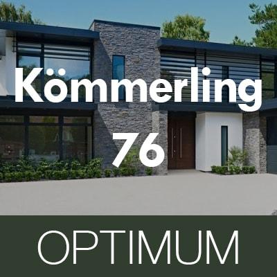 Plastové okná OPTIMUM Kömmerling 76 MD