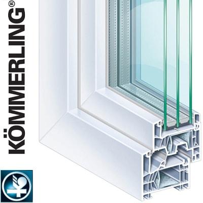 Okná Kömmerling 76 MD