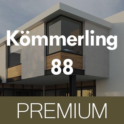 PREMIUM Kömmerling 88 MD műanyag ablakok