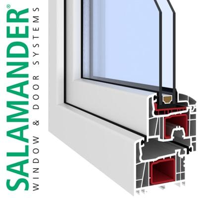 Okná Salamander 76 AD
