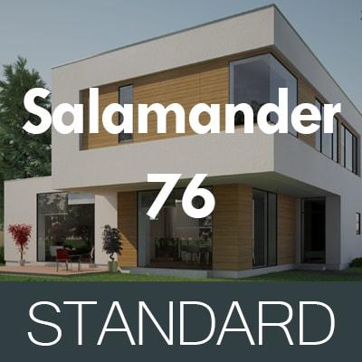 STANDARD Salamander 76 AD műanyag ablakok