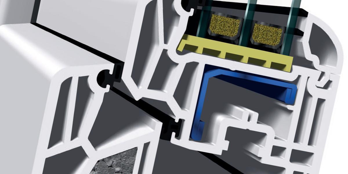 Profilový systém triedy A s 3,0 mm šírkou steny.