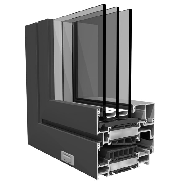 Seth - Dizajn hliníkových okien SO EASY