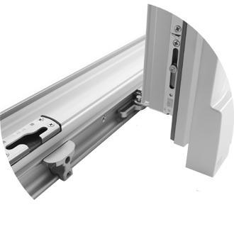 Plastové sklopno-posuvné dvere